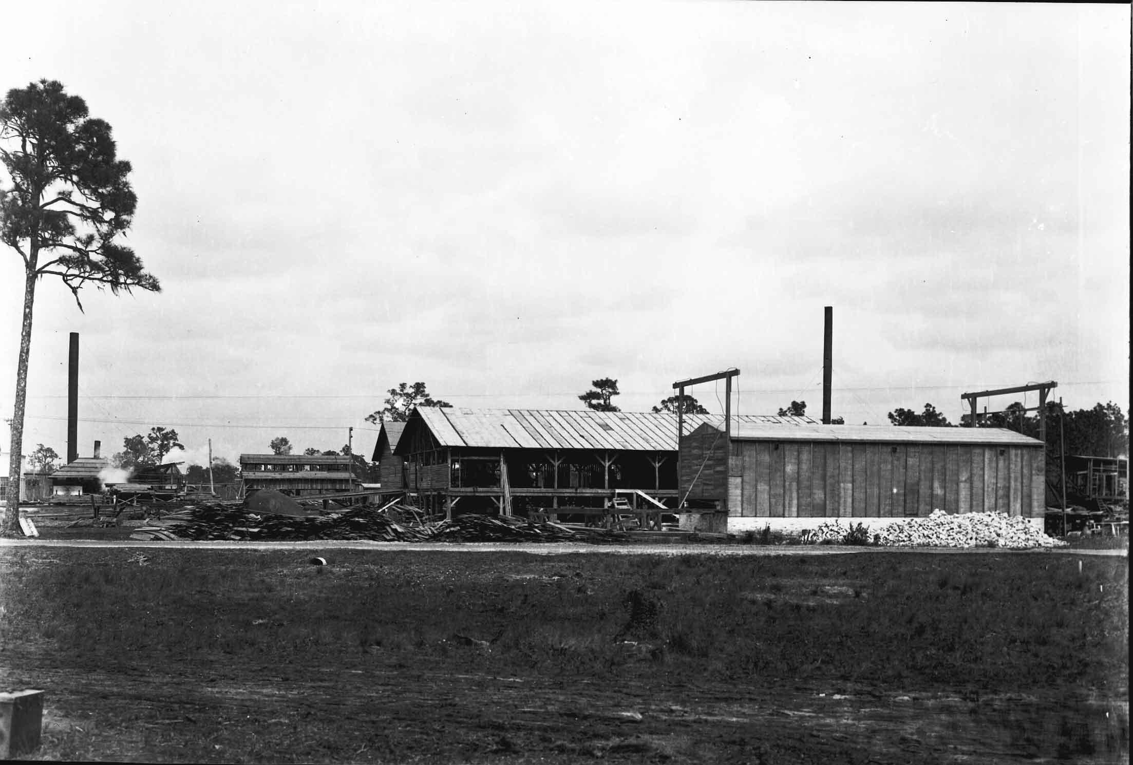 Mystery sawmill